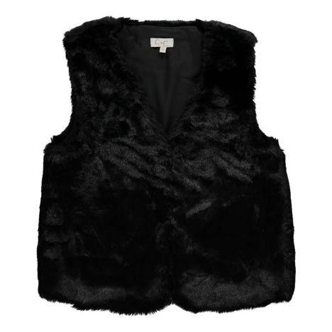 51295c3da Medicis Faux Fur Gilet Black C de C Fashion Children