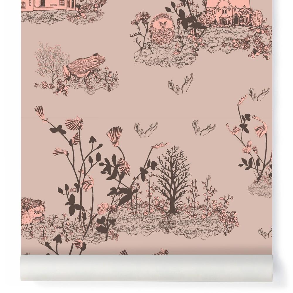 Tapete Woodland   Puder Rosa Sian Zeng Design Kind. «
