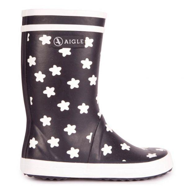 san francisco 48809 31223 Regenstiefel Baby Flac Sterne Grün