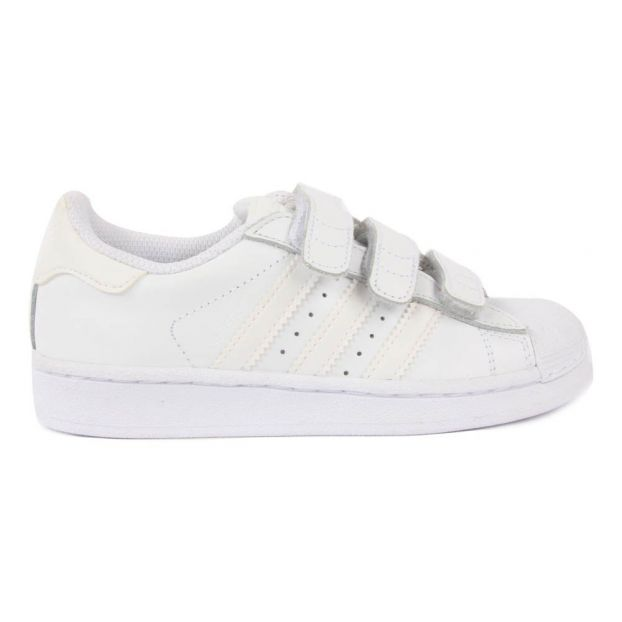 online store 002cc c00e1 Superstar Foundation Velcro Trainers White