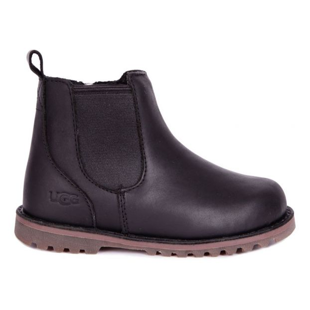 125e637c03381 Callum Sheepskin Ankle Boots Black Ugg Shoes Teen