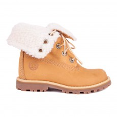 product-Timberland WP Fur Lace-up Boots