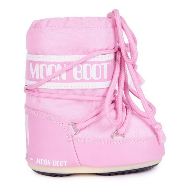 Mini Nylon Moon Boot Pink