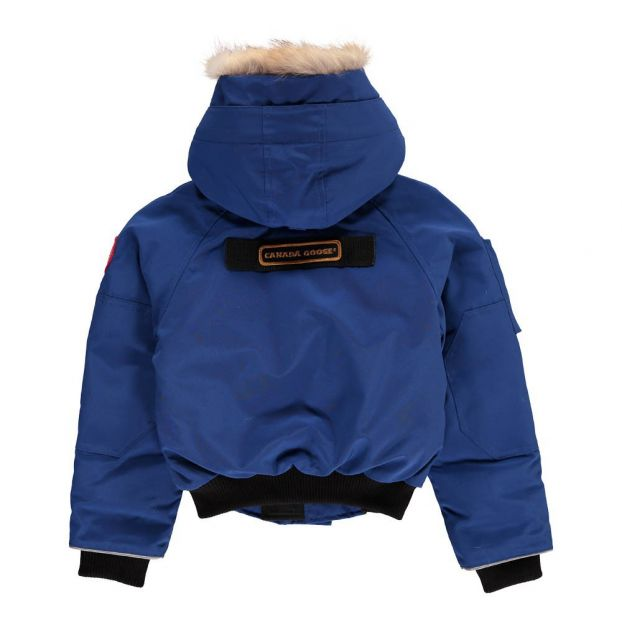 347b1c3de Oliver Down Jacket Blue Canada Goose Fashion Teen , Children