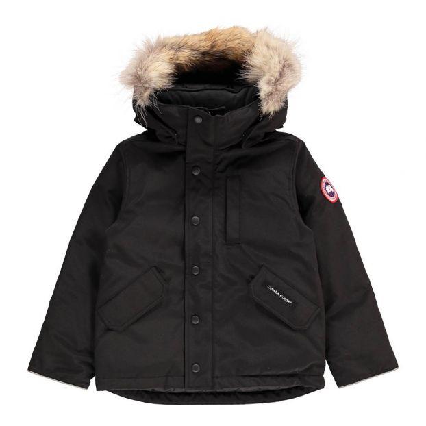 41da2342339f Logan Parka Black Canada Goose Fashion Teen
