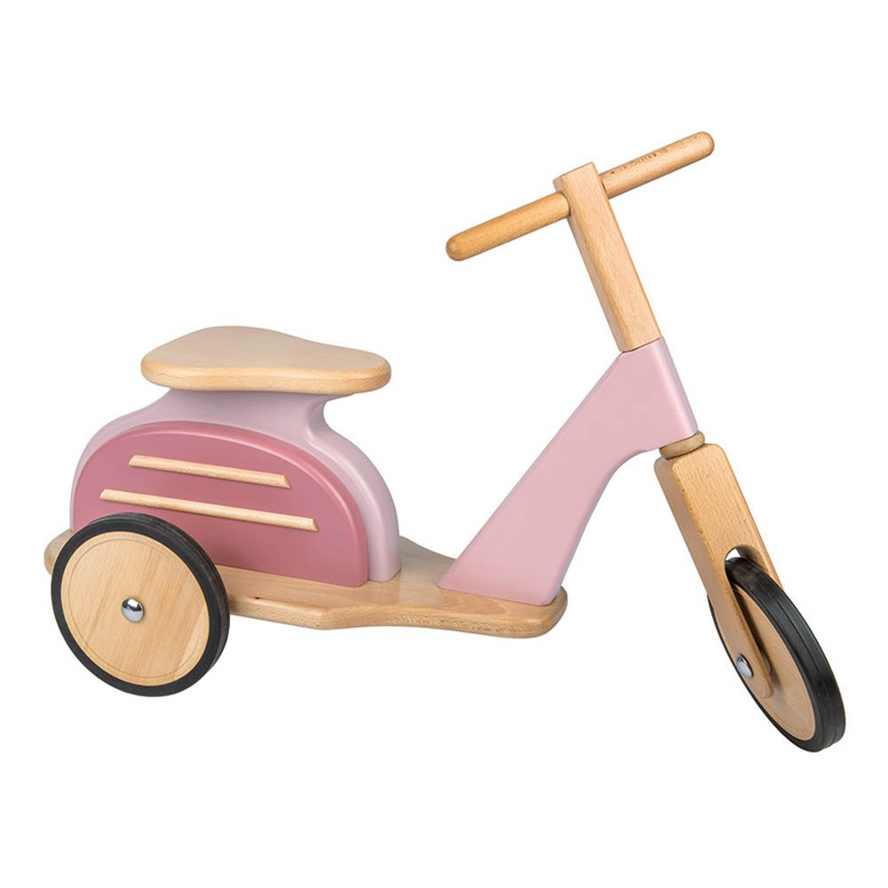 Moulin Roty - Porteur Scooter - Rose