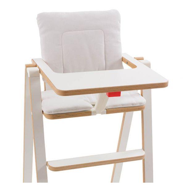 Supaflat Highchair Cushion Vanilla, High Chair Cushion For Wooden Chairs