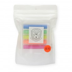 product-Kitpas Thin Dustless Chalk, Neon - Set of 6