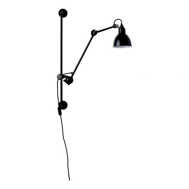 Lampe N°210 Lampe N°210 Noir Noir Applique Lampe Applique Gras Applique Gras cK1TJlF