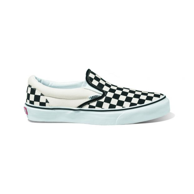 bd152a7076 Checkerboard Classic Slip-On Shoes Black Vans Shoes Baby ,