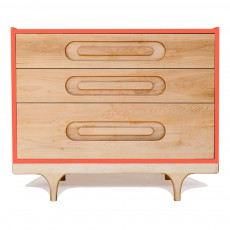 product-Kalon Studios Commode Caravan - Rouge Corail