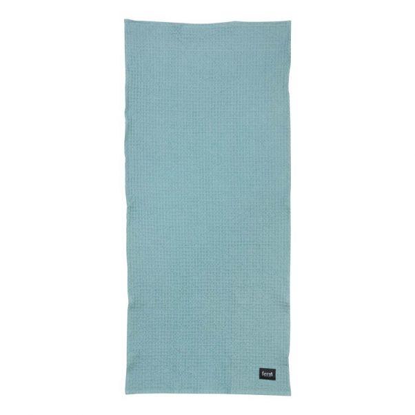 Handtuch Blau Grau 50x100 Cm Ferm Living Design Erwachsene
