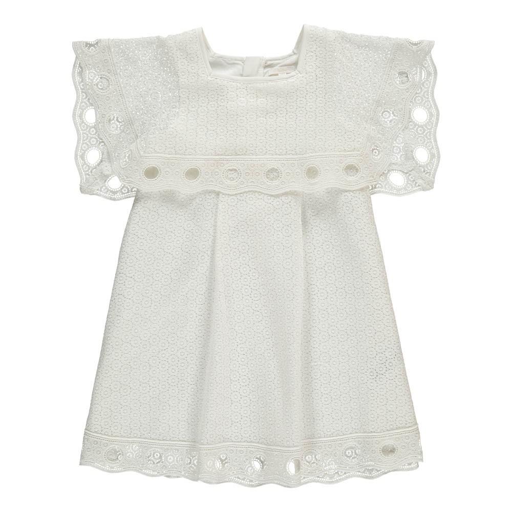 3f62a64eb4e2c Robe Couture Guipure Blanc Chloé Mode Adolescent