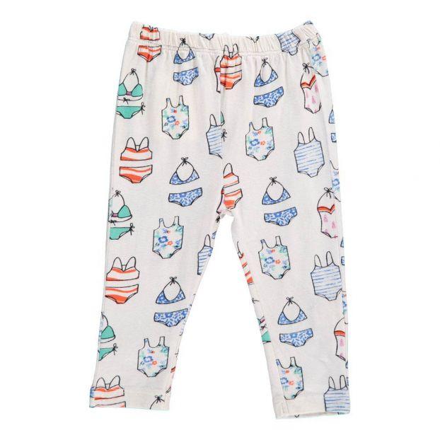 7350a25f1 Lily Bikinis Leggings White Le Petit Lucas du Tertre Fashion Baby