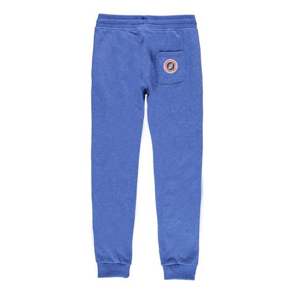 Terry Slim Joggers Blue Sweet Pants Fashion Teen Children