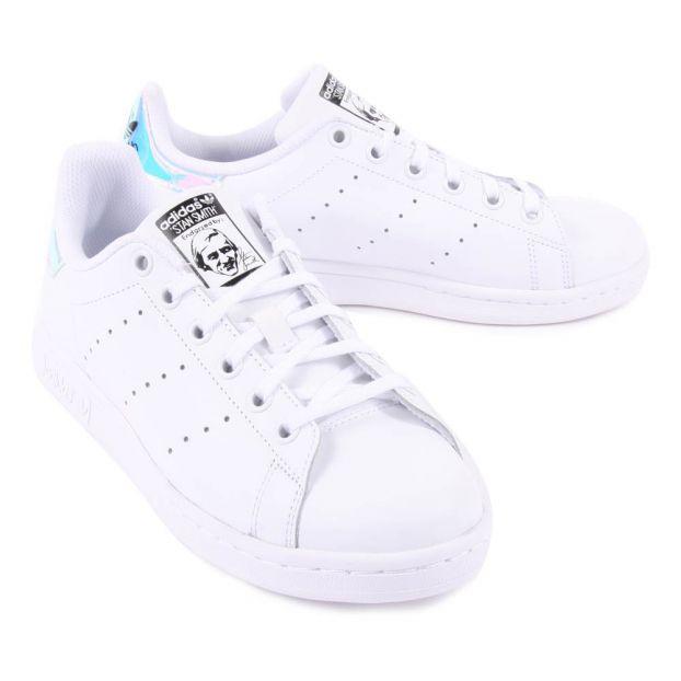 Turnschuhe mit Schnürsenkel Stan Smith Weiß Adidas Schuh