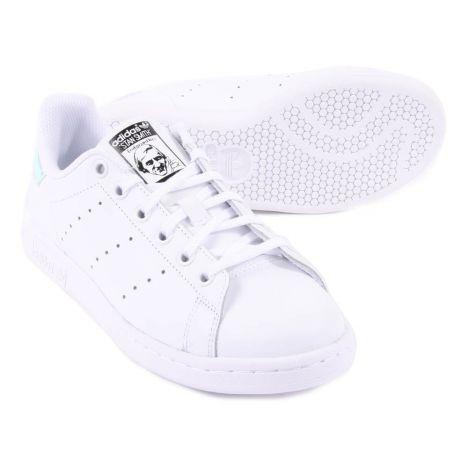 Baskets Irisé Adidas Lacets Stan Smith Chaussure Blanc Cuir qfzqrUa