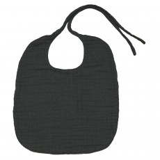 product-Numero 74 Round bib -dark  grey