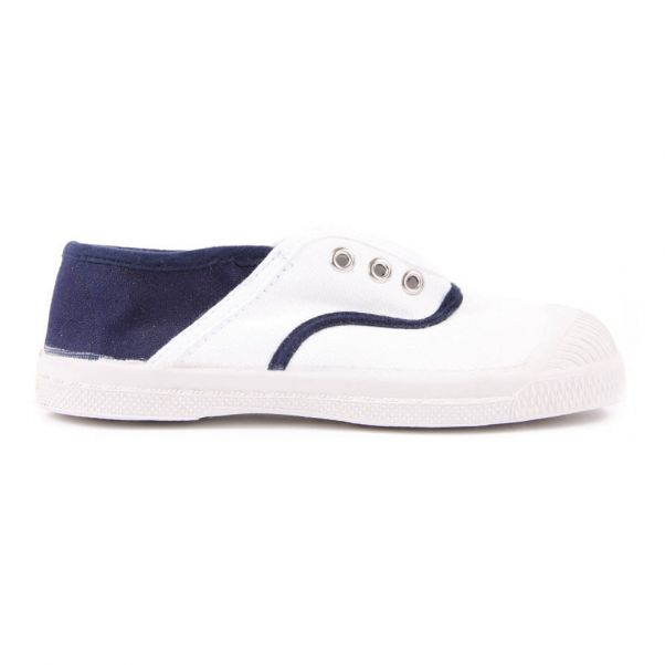 948df8e15a74b Elly Two-Toned Tennis Shoes White Bensimon Shoes Teen , Baby ,