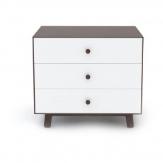 product-Oeuf NYC Walnut Sparrow Base Merlin Chest of 3 Drawers
