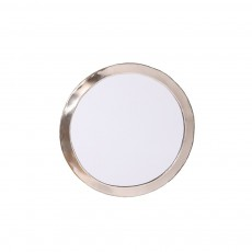 product-Cosydar Round Nickel Silver Mirror