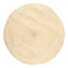 product-Cosydar Woven Palm Leaf Rug D 100 cm