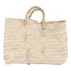 product-Cosydar Flat Woven Palm Leaf Basket