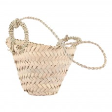 product-Cosydar Woven Palm Leaf Hanging Basket