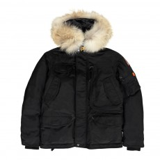 product-Parajumpers Faux Fur Right Hand Hooded Parka