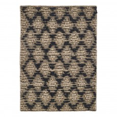 product-House Doctor Neutral and Black Harlequin Rug