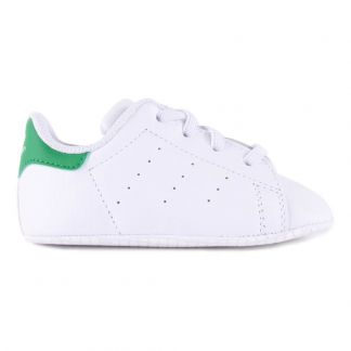 c3b71d4081808 Adidas Chaussons Lacets Cuir Stan Smith Crib-listing