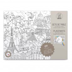 product-Omy City 2 Colouring Table Set