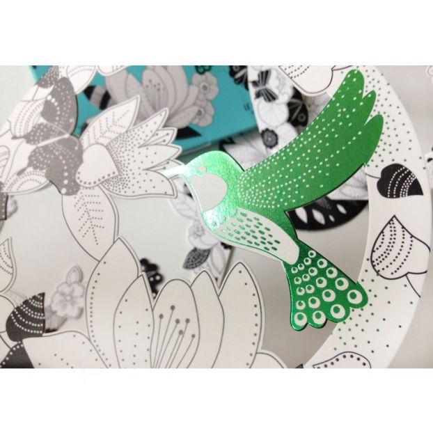 Bolle 3D da colorare Il colibri Mon Petit Art Giocattoli e