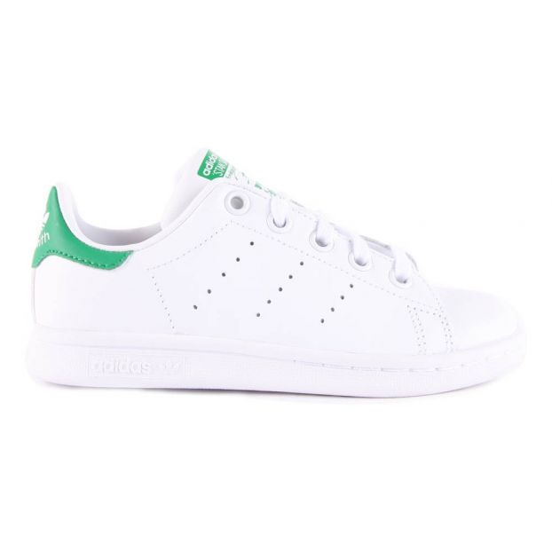 Vert Lacets Stan Smith Chaussure Adidas Adolescent Cuir Baskets Iqf7w