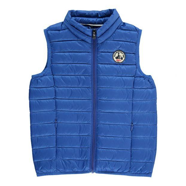 9692f69628a Doudoune Sans Manches Zoé Bleu roi Jott Mode Adolescent