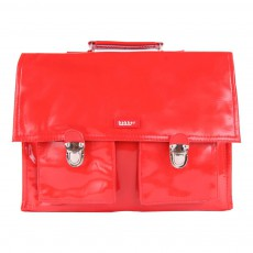 product-Bakker made with love Vinyl Satchel with Strap