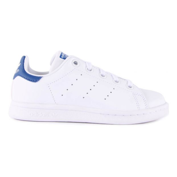 check-out 33183 fff03 Baskets Lacets Cuir Stan Smith Bleu marine
