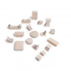 product-Rock and Pebble Pebbles Mini Wooden Furniture