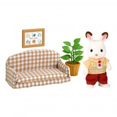 product-Sylvanian Chocolate Rabbit Father Set