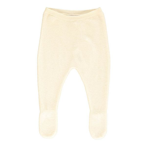 9114c2149 Pedro Cashmere Footed Trousers Ecru Les lutins Fashion Baby