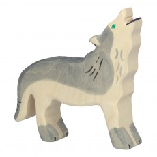 product-Holztiger Wooden Wolf Figurine