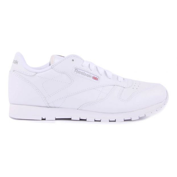 Classic Leather Trainers White Reebok Shoes Teen  fa6318c36
