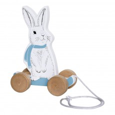 product-Bloomingville Kids Pull Along Rabbit