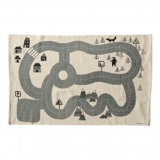 product-Bloomingville Kids Racing Track Carpet 100x150cm