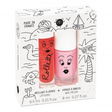 product-Nailmatic Kids Holidays Nail Varnish and Gloss Rollette Duo
