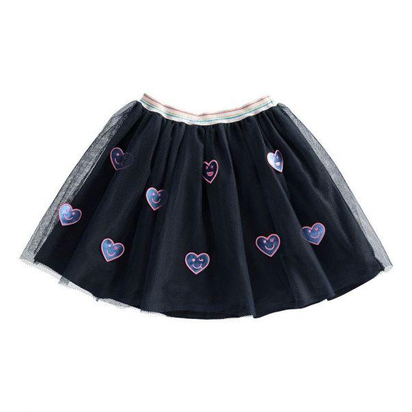 Jupon Smiley Bleu nuit Billieblush Mode Enfant 2396dae8b9b2