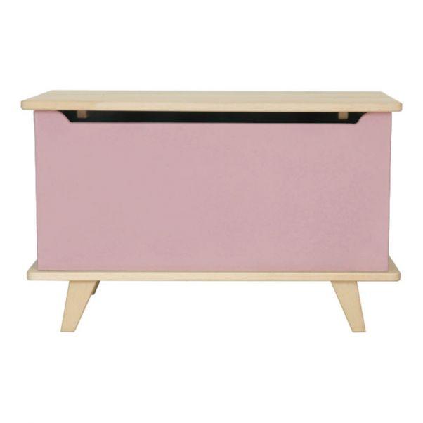 Le Coffre Toy Box Dusty Pink Laurette Design Children