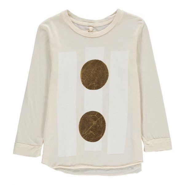 Organic Cotton Beams T-Shirt Ecru Nico Nico Fashion Children e260750004b