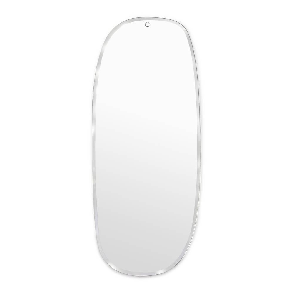 OK: Flacher Spiegel-Rechteckförmig