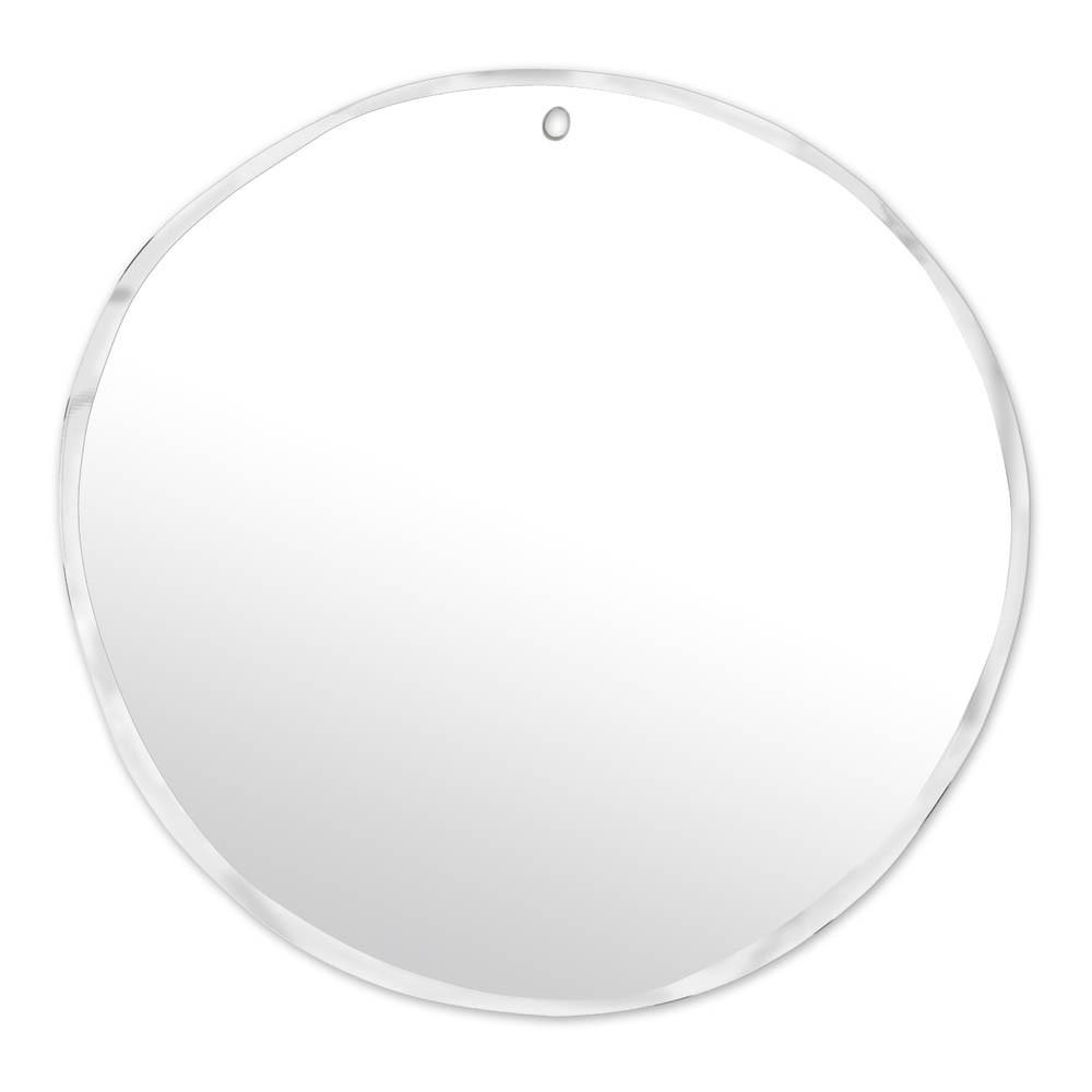 Flacher Spiegel Rund 67, 5 × 70 cm